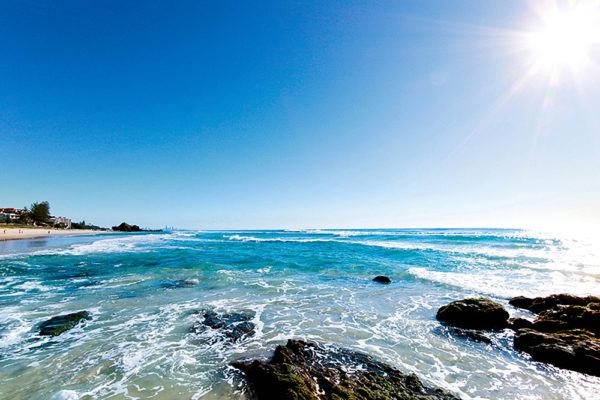 9. Sandcastles-Currumbin-Enjoy beautiful clear water and uncrowded beaches